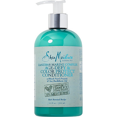 SheaMoisture Zanzibar Marine Complex Age-Defy %26 Color Protect Conditioner