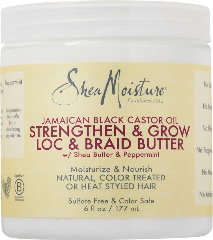 Jamaican Black Castor Oil Strengthen Grow Loc Braid Butter