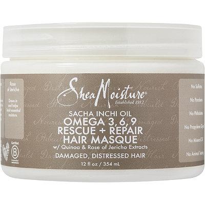 SheaMoistureSacha Inchi Rescue %26 Repair Hair Masque
