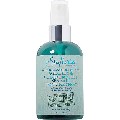 SheaMoisture Zanzibar Marine Complex Age-Defy %26 Color Protect Sea Salt Texture Spray