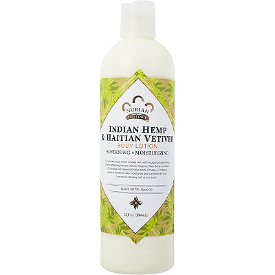 Nubian Heritage Indian Hemp %26 Vetiver Body Lotion