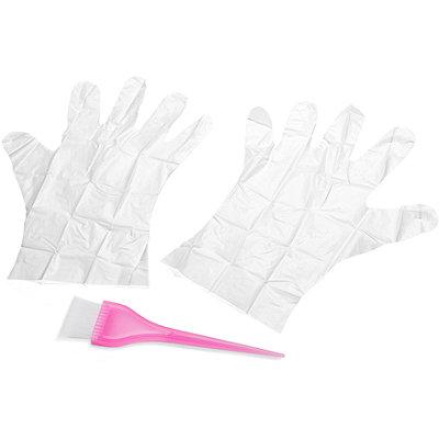 Tinting Brush & Gloves
