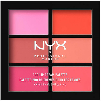 Nyx Cosmetics The Pinks Pro Lip Cream Palette