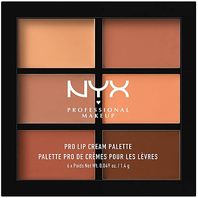 Nyx Cosmetics The Nudes Pro Lip Cream Palette