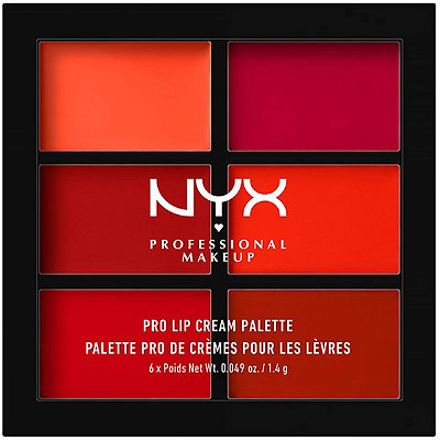 Nyx Cosmetics The Reds Pro Lip Cream Palette