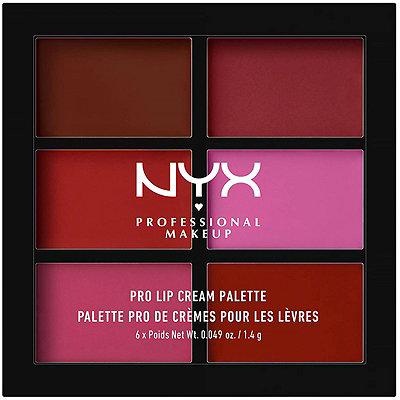 Nyx Cosmetics The Plums Pro Lip Cream Palette