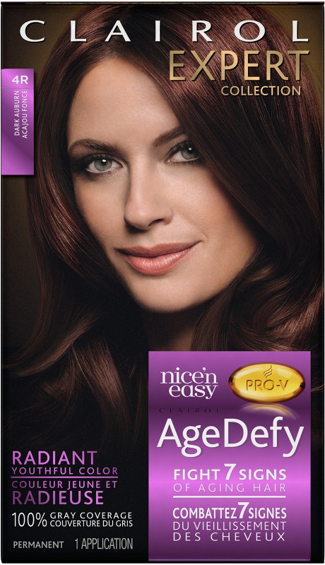 Expert Collection Age Defy Permanent Hair Color 4R Dark Auburn