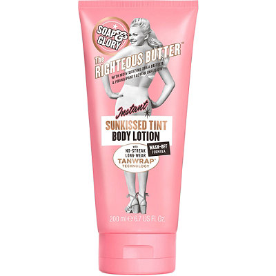 Soap & Glory Righteous Butter Instant Sunkissed Tint Body Lotion