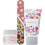 Vintage & Co Fabrics & Flowers Nail Care Set