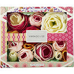 Vintage & Co Fabrics & Flowers Soap Flowers