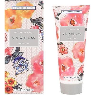 Heathcote & IvoryVintage %26 Co Patterns %26 Petals Hand Cream