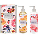Heathcote & Ivory Vintage & Co Patterns & Petals Hand wash/Lotion Set