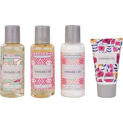 Heathcote & IvoryVintage & Co Fabrics & Flowers Travel Kit