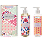 Heathcote & Ivory Vintage & Co Fabrics & Flowers Hand wash/Lotion Set