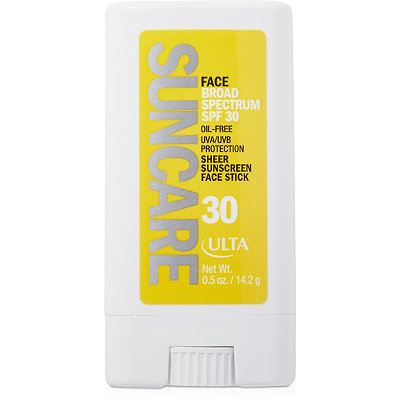 ULTA Sheer Sunscreen Face Stick SPF 30
