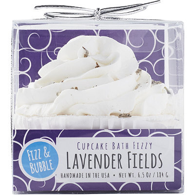 Lavender Fields Bubble Bath Cupcake