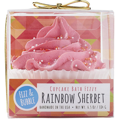 Rainbow Sherbet Bubble Bath Cupcake