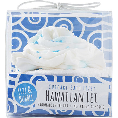 Hawaiian Lei Bubble Bath Cupcake