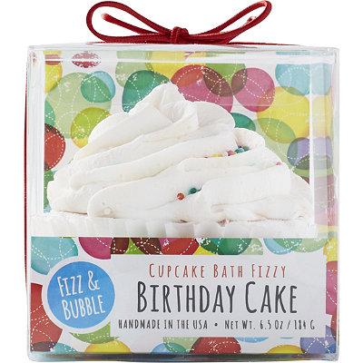 Fizz & BubbleBirthday Cake Bubble Bath Cupcake