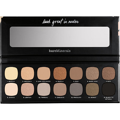 BareMinerals Online Only The Nature of Nudes Eyeshadow Palette