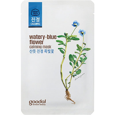 Goodal Online Only Watery-Blue Flower Calming Sheet Mask