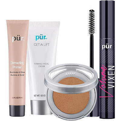 PÜR Get Glowing Try Me Kit