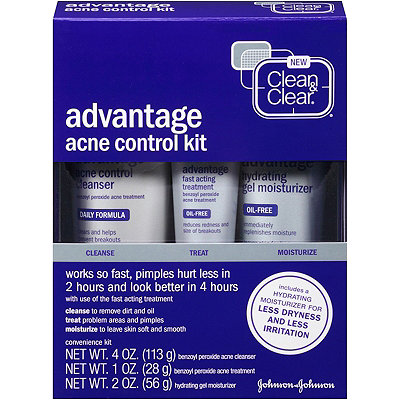 Clean & ClearAdvantage Acne Control Kit