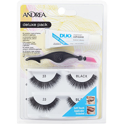 Andrea Deluxe Pack Lash %2333 Black