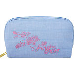 Blue Aster Medium Clutch