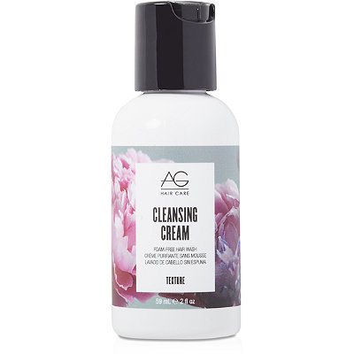 AG HairTravel Size Cleansing Cream Foam Free Hair Wash
