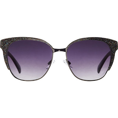 Starlight Metal Cateye with Glitter Top