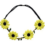 Burmax Yellow Daisy Headband