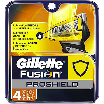 Gillette Fusion ProShield Men%27s 5 Blade Razor Cartridge Refills