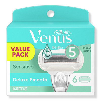 GilletteVenus Embrace Sensitive Women%27s Razor 5 Blade Cartridge Refills