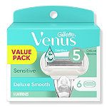 Venus Embrace Sensitive Women's Razor 5 Blade Cartridge Refills
