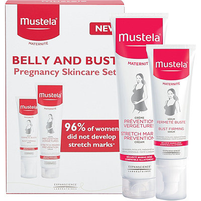Mustela Online Only Pregnancy Belly and Bust Set