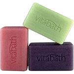 VitabathFREE 3 pack Bar Soap w/ any $25 Vitabath purchase
