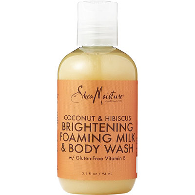 SheaMoisture Coconut %26 Hibiscus Brightening Foaming Milk %26 Body Wash
