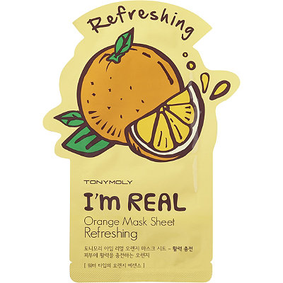 TONYMOLYI'm Real Orange Mask Sheet