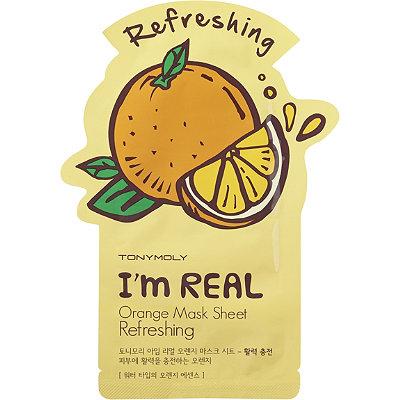 TONYMOLYI%27m Real Orange Mask Sheet