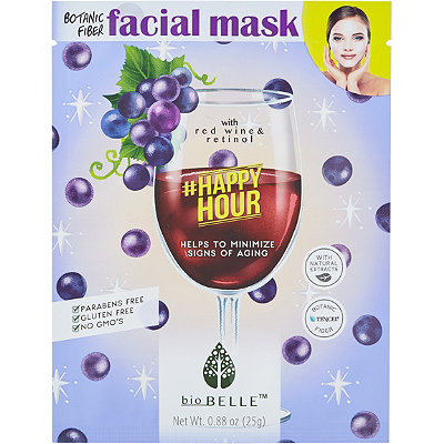 Biobelle%23HappyHour Sheet Mask
