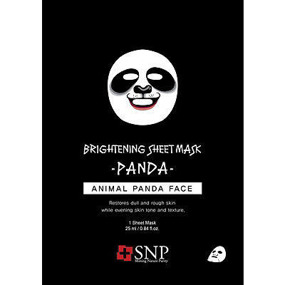 SNP Animal Panda Brightening Mask Sheet