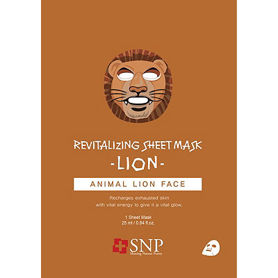 SNP Animal Lion Revitalizing Mask Sheet