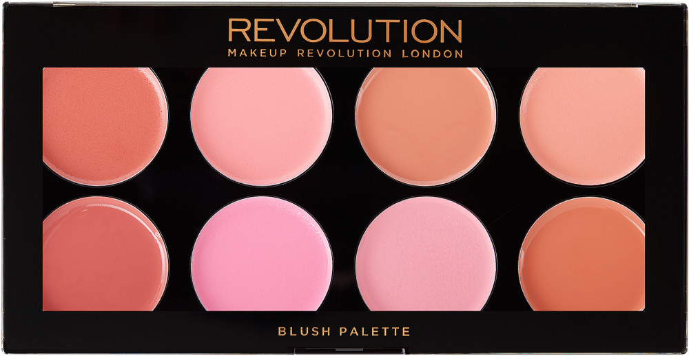 Cream Blush Palette By Revolution Beauty