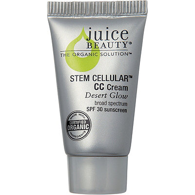 Juice Beauty FREE deluxe sample Stem Cellular CC Cream SPF 30 in Desert Glow w%2F any %2450 Juice Beauty purchase