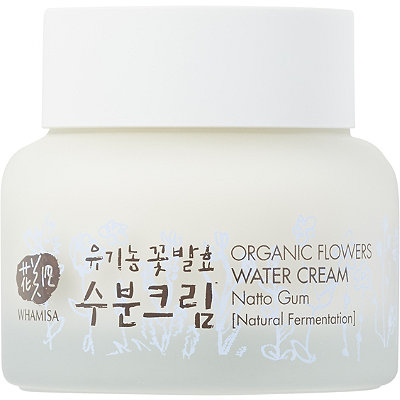 Whamisa Online Only Organic Flowers Water Cream with Natto Gum