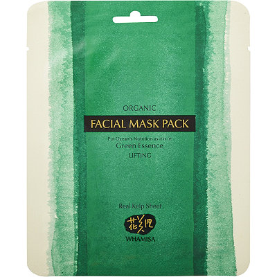 Whamisa Online Only Organic Sea Kelp Sheet Mask