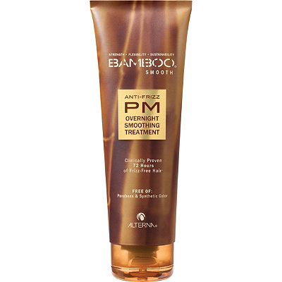 Bamboo Smooth Anti-Frizz PM Overnight Smoothing Treatment