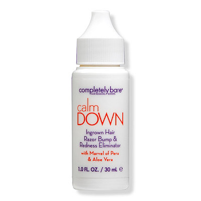 Completely BareCalm Down Ingrown Hair, Razor Bump & Redness Eliminator