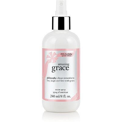 PhilosophyOnline Only Amazing Grace 20th Birthday Special Edition Room Spray
